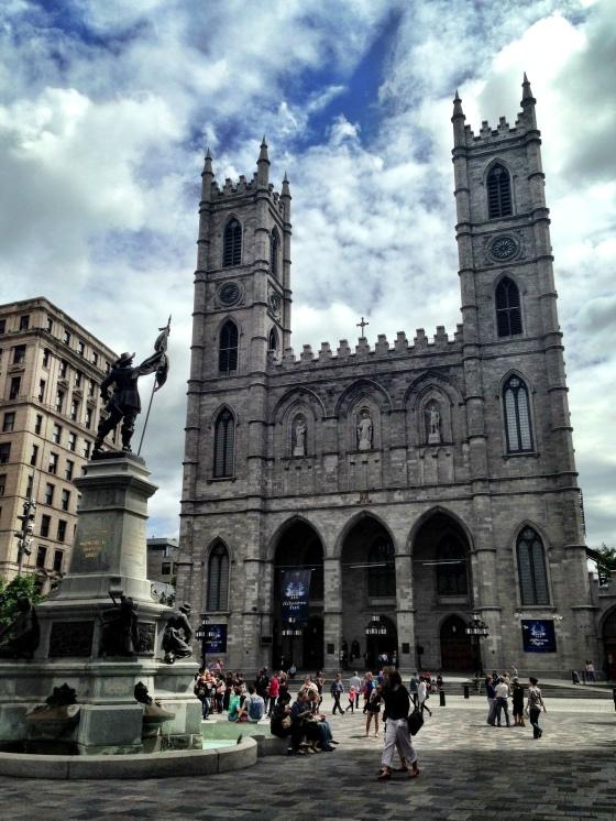 Basílica Notre Dame de Montreal