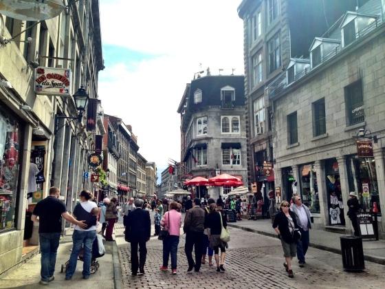 Rue Saint Paul, em Vieux Montreal