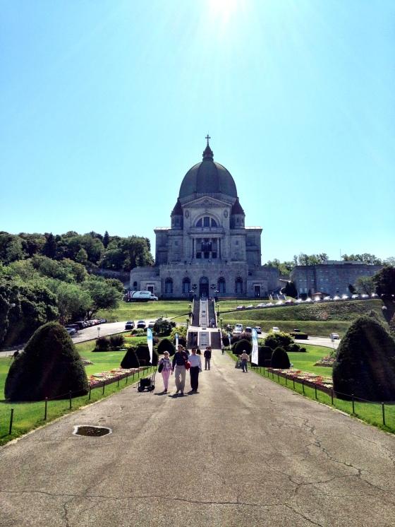 O imponente L'Oratoire de Saint Joseph