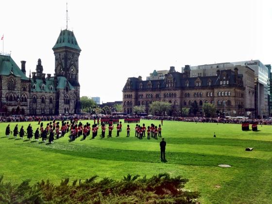 Troca da guarda em Ottawa