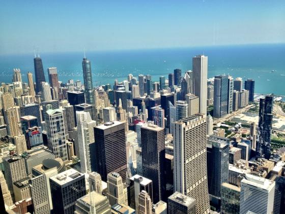 Chicago vista da Willis Tower