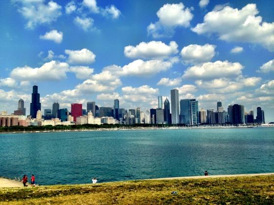 Chicago vista da Notherly Island