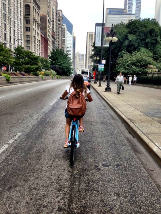 Pedalando por Chicago