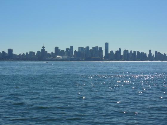 Silhueta da paradisíaca Vancouver!