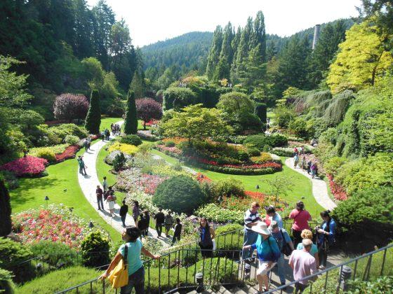 O maravilhoso The Butchart Gardens
