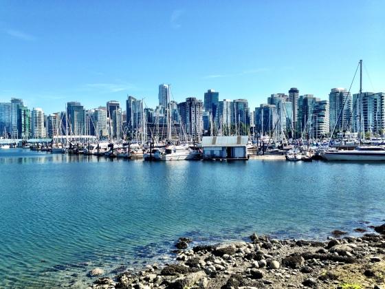 Vancouver vista do Stanley Park